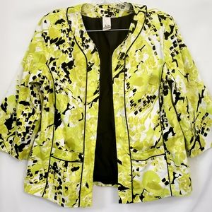 Lavender & Honey Floral prints Career blazer